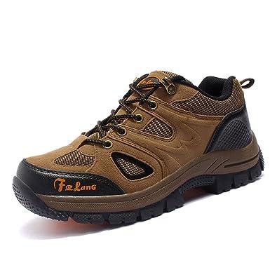 Autumn Fashion Men's Outdoor Camping Climbing Travel Hiking Shoes (45 EU,  Brown)