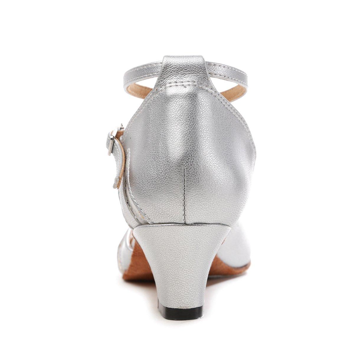 Minishion GL261 Women's Closed Toe Mesh Latin Synthetic Salsa Latin Mesh Dance Shoes Party Pumps B078GGDQJ1 Dance 3ce371