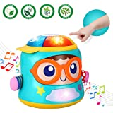Infant Toys Tumbler Soother Baby Musical Toys for 6 12 18 Month Old Boys and Girls with Lights Sounds and Songs Baby…
