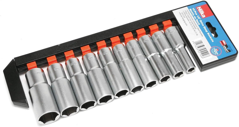 Pro nave profunda juego de tubos m/étrica 0 1//2-pulgada Hilka 1041002