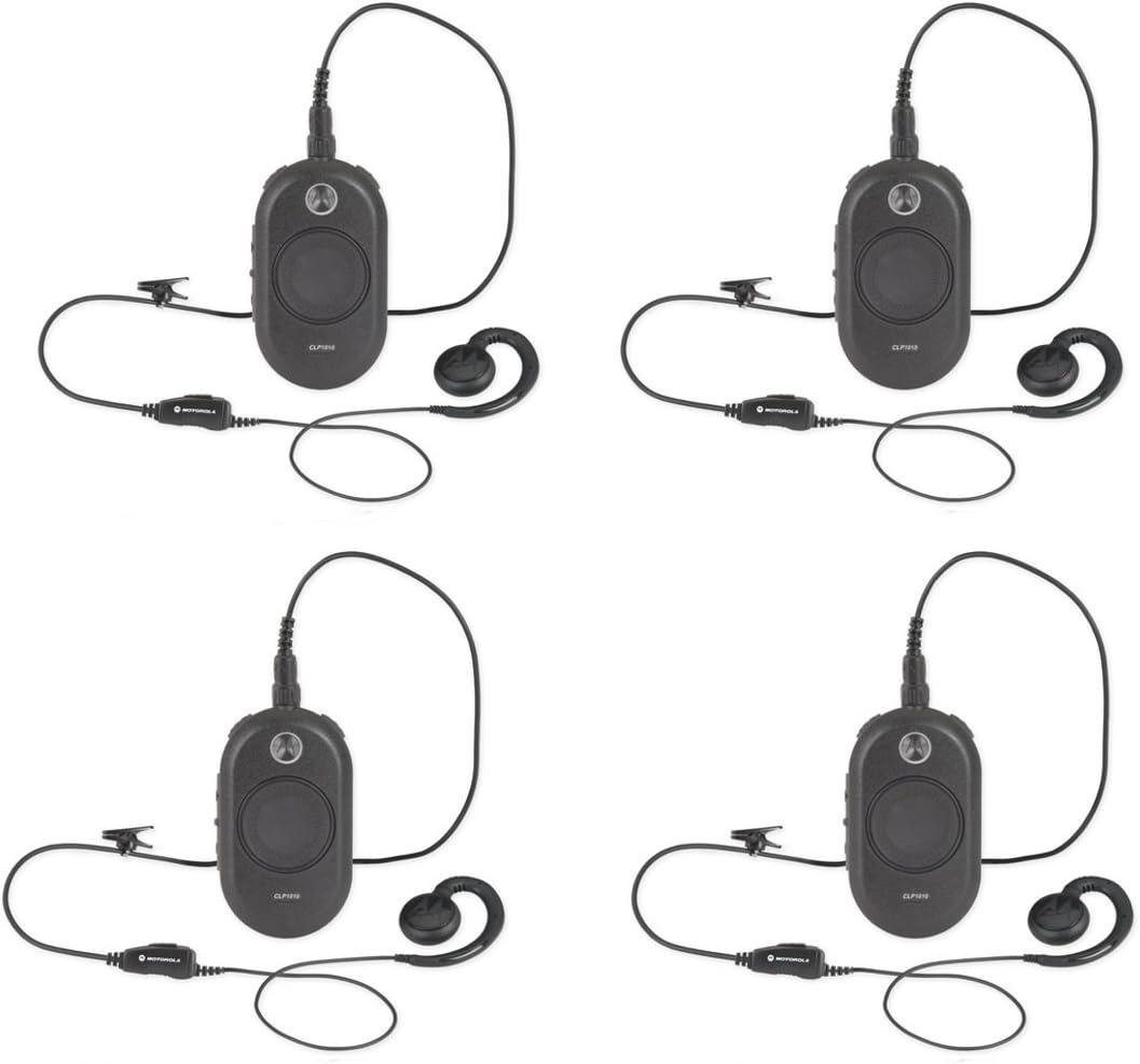 MOTOROLA CLP1010 SERIES TWO-WAY RADIO 4 PACK BUNDLE