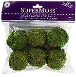 #5: SuperMoss (21807) Moss Balls, Fresh Green, 2 (6 pack)