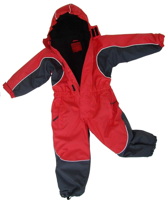 MAYLYNN Kuscheliger Schneeanzug Skianzug rot atmungsaktiv und wasserdicht 5000mm