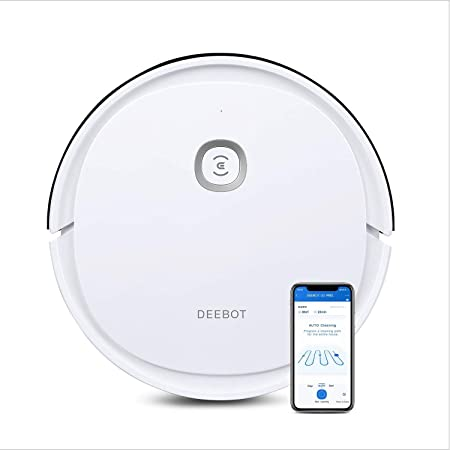 Ecovacs Deebot U2 - Robot Aspirador con función de Limpieza y Limpieza sistemática, Control de Aplicaciones y Alexa: Amazon.es: Hogar