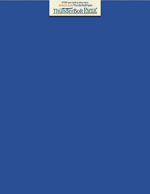 75ブライトロイヤルブルー65 #厚紙用紙8.5
