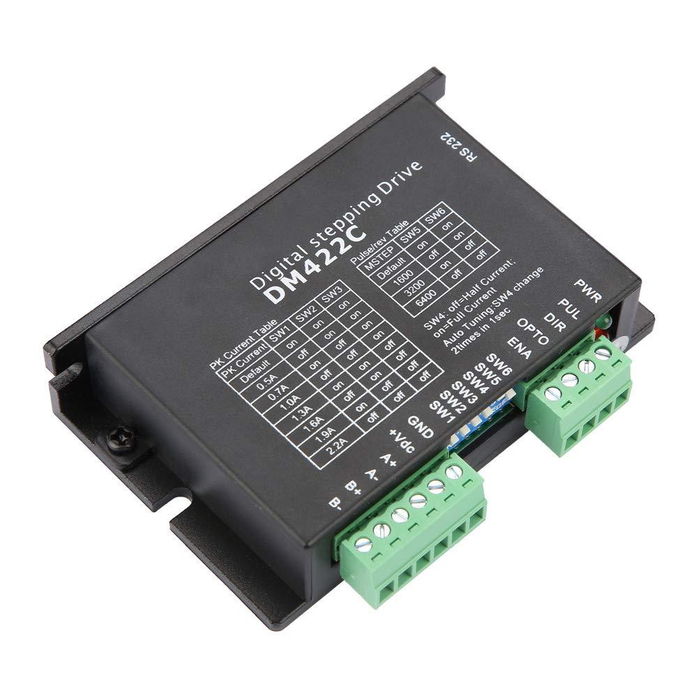 Liukouu DM422C Stepper Motor Controller Driver for Engraving Machine/CNC Tool