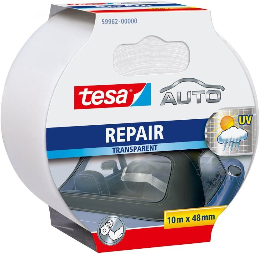 Tesa Auto Repair Band 10m x 48mm transparent