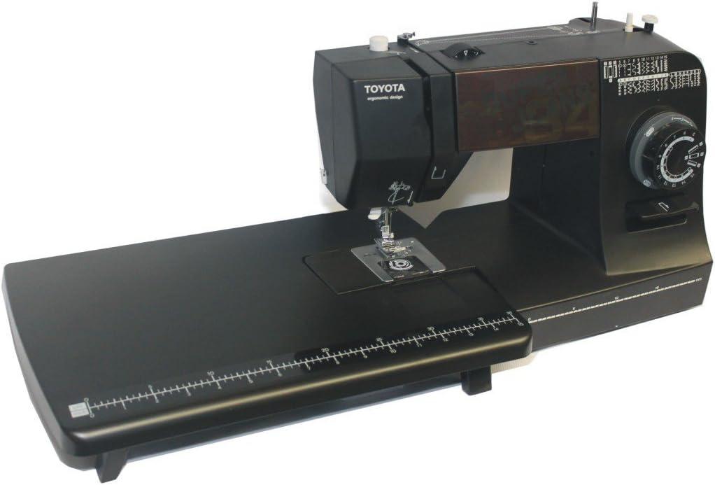 Toyota Super Jeans Máquina de coser Super j34pe con grandes Zona de trabajo: Amazon.es: Hogar