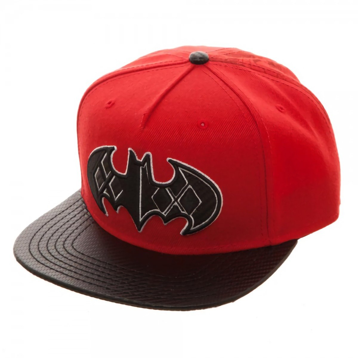 DC Comics Batman Harley Quinn Carbon Fiber Logo Snapback Gorra De ...