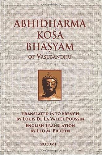 Amazon Com Abhidharmakosabhasyam Of Vasubandhu Vol I