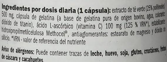 Amix 8594159536777 - Green tea extract vitaminas y minerales, 74 gr