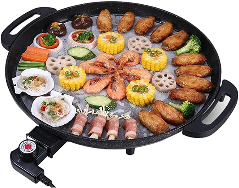 Gril De Barbecue Électrique De Table Teppanyaki Gril Plat