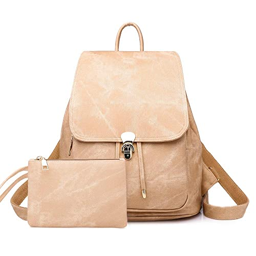 331e36fd26 GTG Women s PU Leather Fashion Backpack College School Student Bag Shoulder  Bags Casual Handbags For Girls