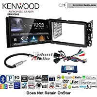 Volunteer Audio Kenwood DDX9704S Double Din Radio Install Kit with Apple Carplay Android Auto Fits 2013-2014 Buick Enclave, 2013-2014 Chevrolet Traverse
