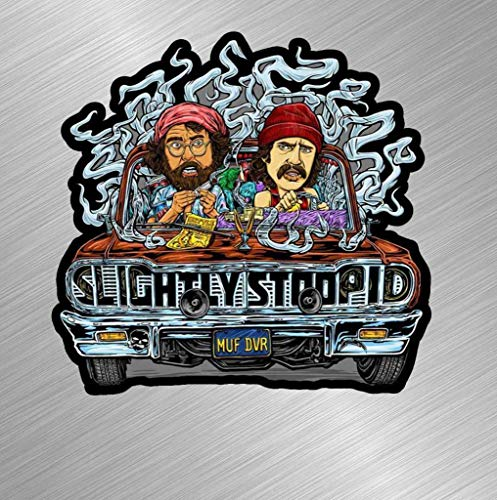 Workmas Vinyl Sticker Decal Cheech and Chong Weed Pot Up in Smoke Movie Joint Stoopid, 3 inch