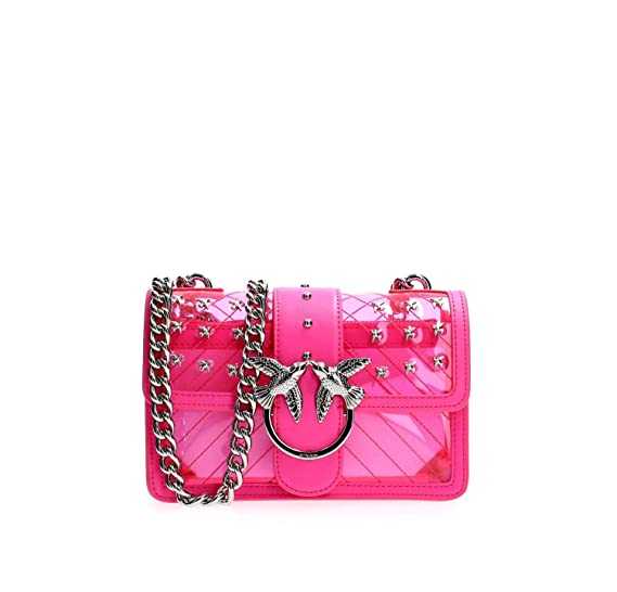 f246447116daf PINKO MINI LOVE PLASTIC SHOULDER Women  Amazon.co.uk  Shoes   Bags