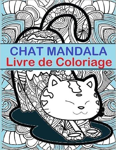 Chat Mandala Livre De Coloriage Chat Mandala Livre De Coloriage Est