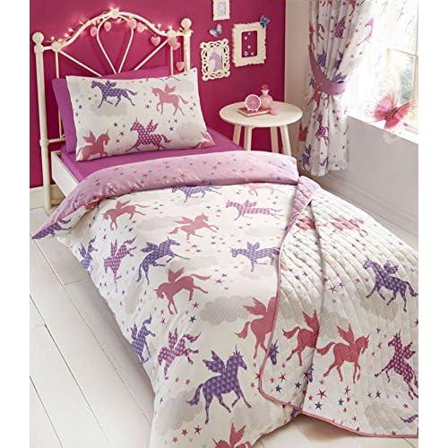 Unicorn Bedding And Curtain Sets Amazon Co Uk