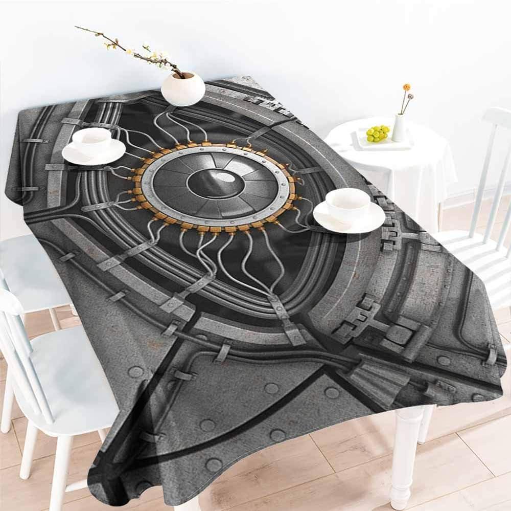 Moda Rectangular Mantel, Ojo Robot Ojo con Cables futurista ...