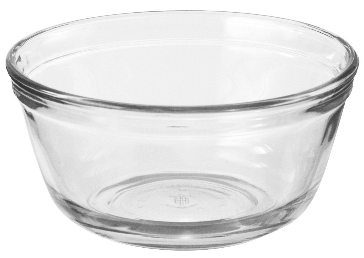 Anchor Hocking Glass Food Prep and Mixing Bowls, 4 Quart (Set of 2) by Anchor Hocking (Image #1)