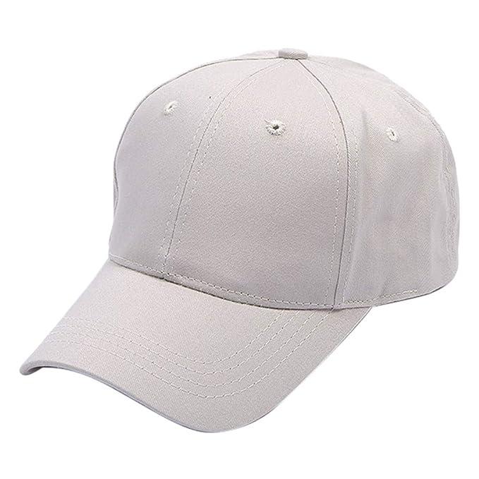 2019 Nuovo Cappello da Baseball in Cotone Solido per Donna Uomo Cappello  Sportivo da Baseball Traspirante Visiera By WUDUBE  Amazon.it  Abbigliamento d20f659f4afa