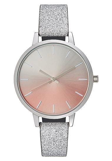 Even&Odd Reloj de Pulsera para Mujer Elegante - plateado, Diámetro Aprox.