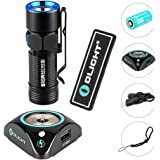 Bundle : olight s10r baton iii led flashlight waterproof rechargeable pocket-sized torch for camping and hiking super bright 600 lumen rcr123a battery ( 16340 ) with olight patch