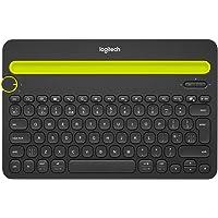 Logitech® Bluetooth® Multi-Device Keyboard K480,US International indeling - Zwart