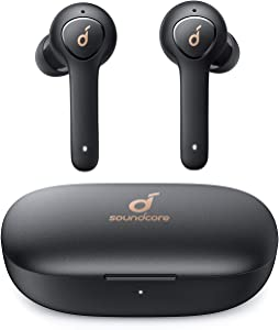 Anker Soundcore Life P2 True Wireless Earbuds with 4 Microphones, CVC 8.0 Noise Reduction, Graphene Drivers for Clear Sound, USB C, 40H Playtime, IPX7 Waterproof