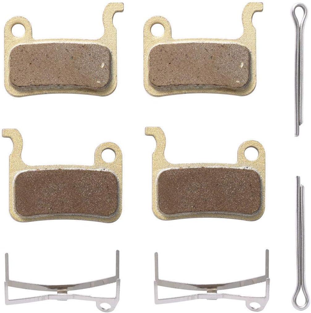 Sintered Metal Bike Brake Pads for Shimano Deore SLX XT XTR M785 M9000 Br-M8000 M7000 M6000 M675 M615 4Pairs RATUXTR Bicycle Disc Brake Pads