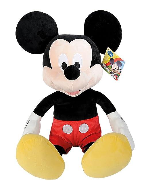 SIMBA 6315878713 Disney La Casa de Mickey - Peluche de Minnie básico (80 cm): Amazon.es: Juguetes y juegos