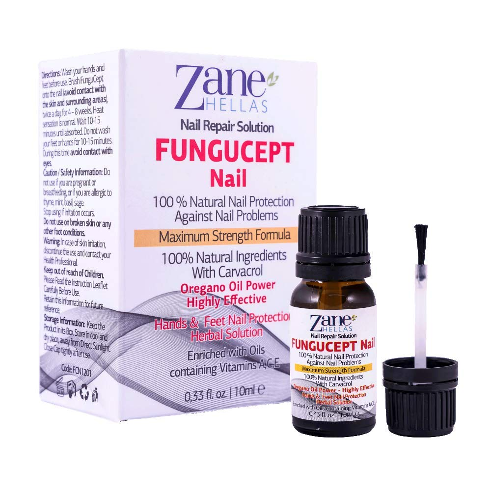 6de697c38bdffa FUNGUCEPT Nail Repair Solution for Hands and Feet. Ideal for Discolored