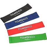 tomshoo elastische Bänder Einfache Band Robust Für Übung Yoga Pilates Übungen physischen Physiotherapie im Fitnesscenter oder Haus