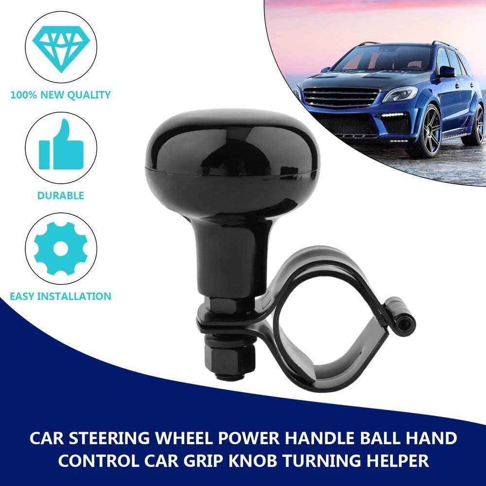 Car Steering Wheel Power Handle Ball Car Grip Knob Turning Helper Car Styling Hand Control Steering Wheel Fit Most Vehicles