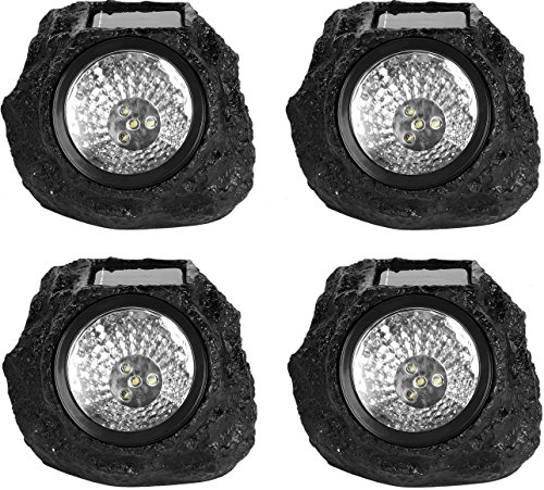 Led Garden Rock Light in Florida - 9