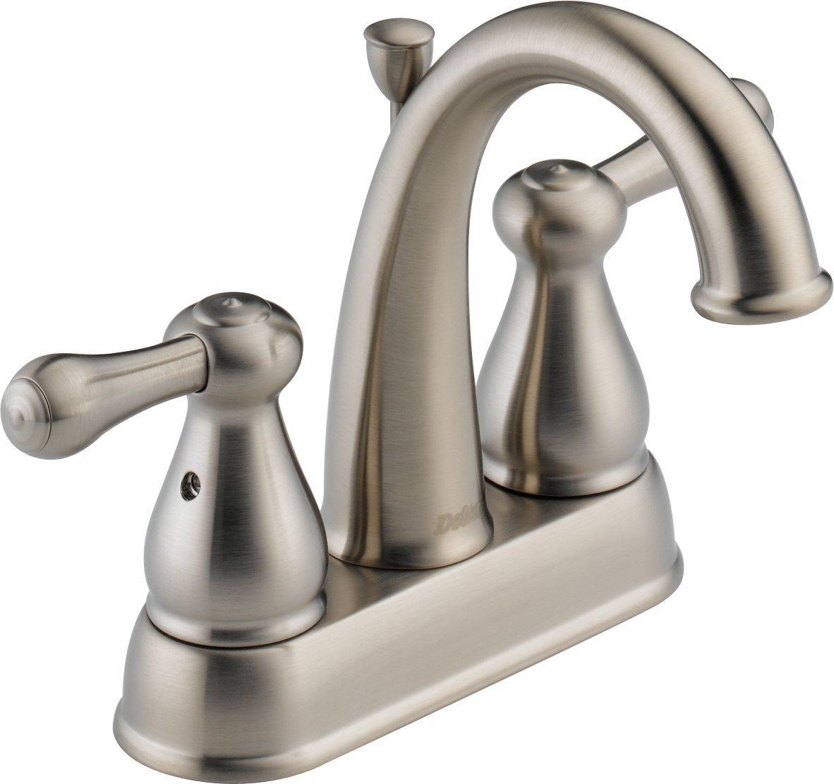 Delta Faucet 2575LF-SSMPU Leland, Two Handle Centerset Bathroom ...