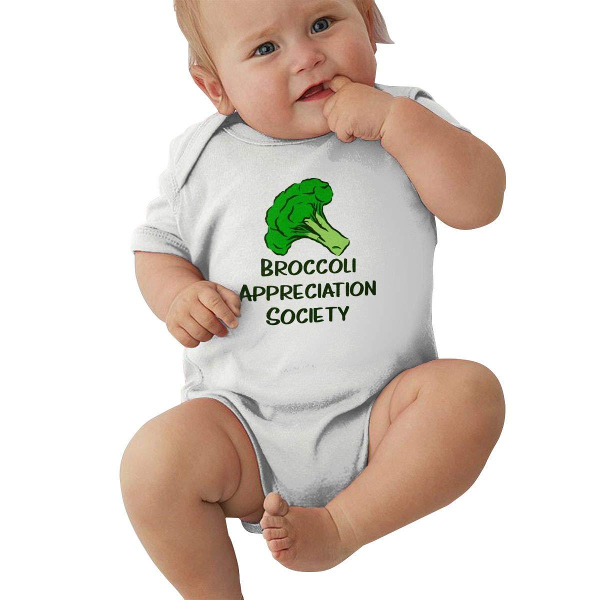 Broccoli Appreciation Society Vegan Baby Boys Organic Cotton Short Sleeve Pajamas Sleeper
