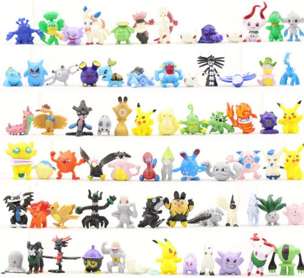 96 figuras de Pokemons por 17,99€