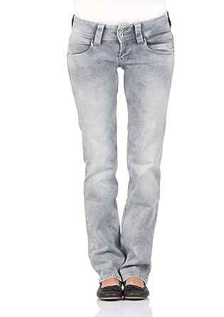 Pepe Jeans Damen Jeans Venus - Regular Fit - Grau - Grunge Grey, Größe  f09168744e