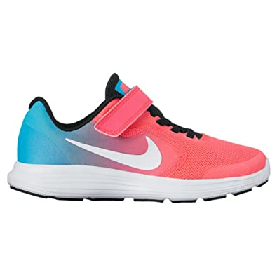 adcd50fb693c NIKE Kids  Revolution 3 (Psv) Running-Shoes