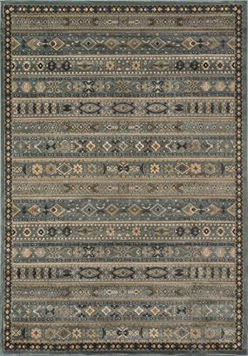 Light Belmont Collection 3 - Momeni Rugs BELMOBE-04LBL2030 Belmont Collection, Traditional Area Rug, 2' x 3', Light Blue