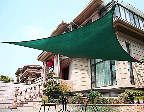 Guoyajf Rectángulo Arena UV Bloque Sun Shade Sail Patio Al Aire ...