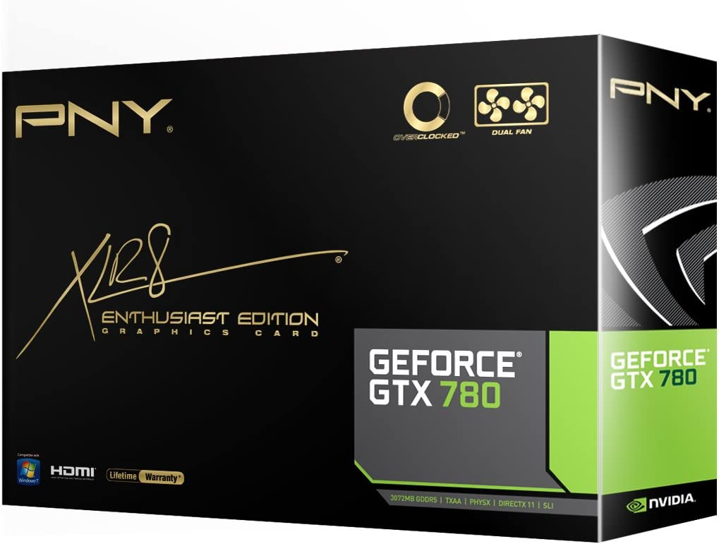 PNY GeForce GTX 780 3GB CC OC NVIDIA GeForce GTX 780 3GB - Tarjeta ...