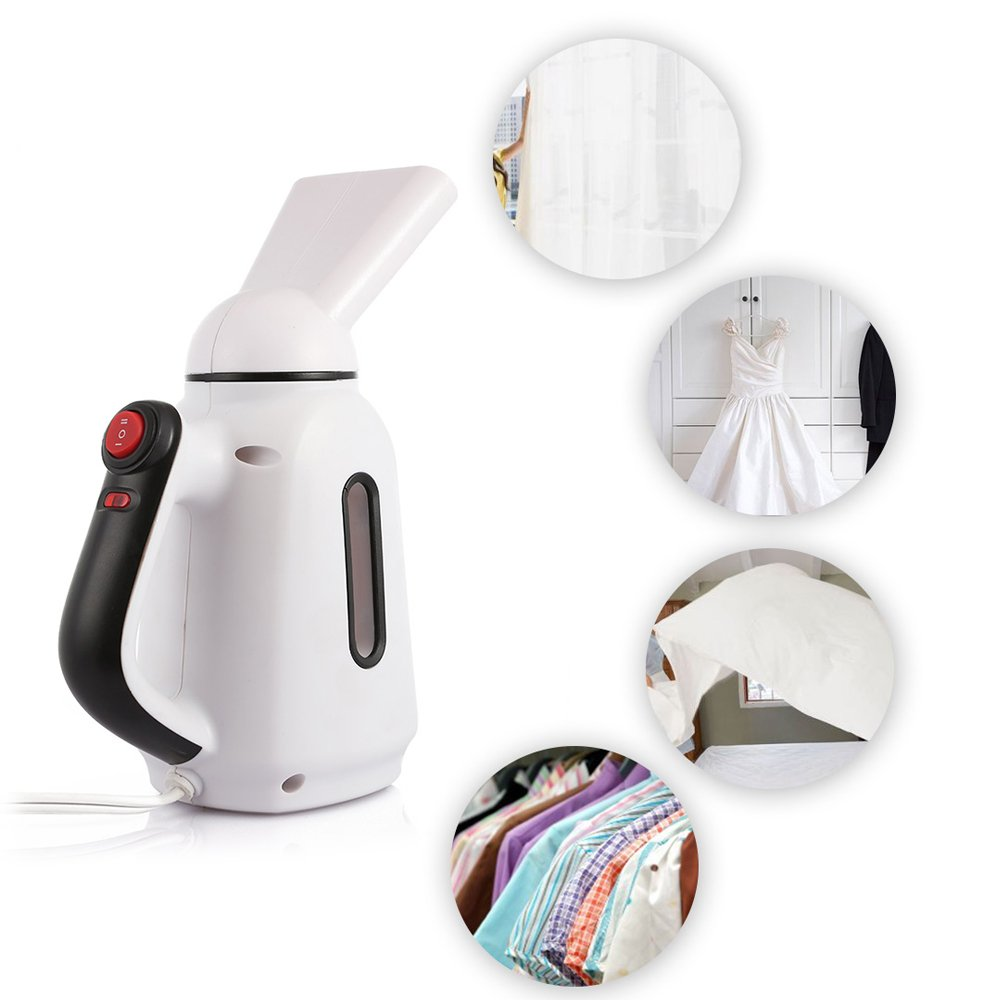 QJAIQQ Portable Handheld Steam Garment Steamer Travel Electric Iron 1200ML Water Tank Ironing Machine Steaming Face Machine Humidifier 850W 220V