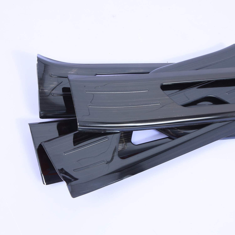 DOOR ENTRANCE SILL SCUFF KICK PLATE TRIM STRIP PLASTIC CLIPS FOR PORSCHE CAYENNE