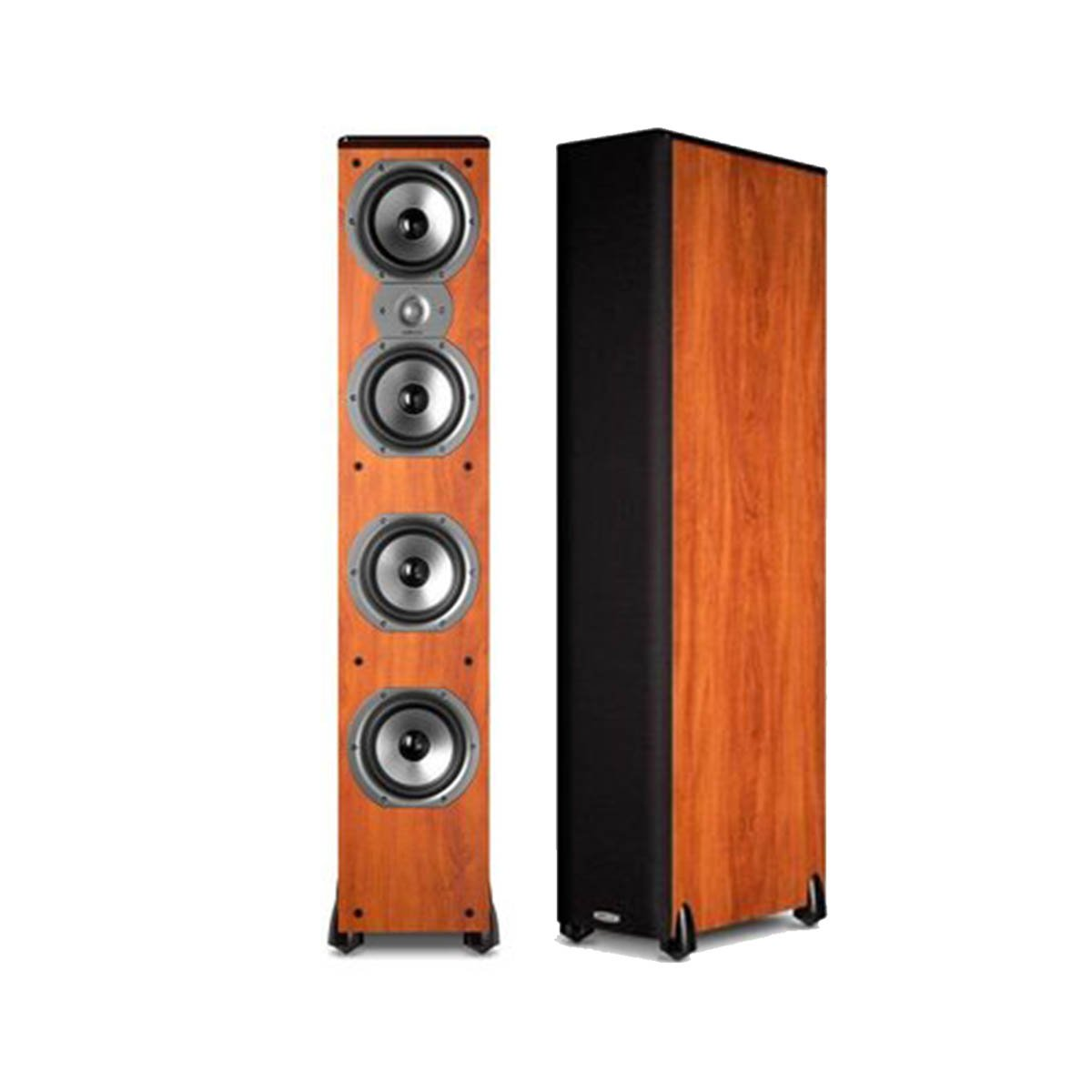 Polk Audio TSi500 High Performance Tower Speakers with Four 6-1/2'' Drivers - Pair (Cherry)