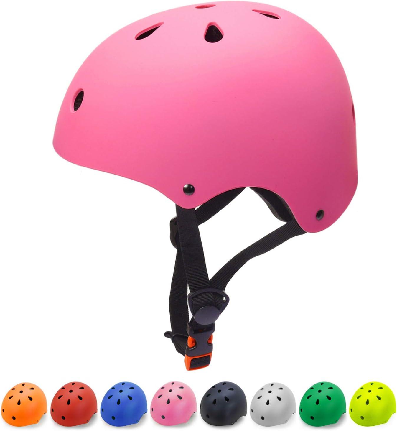 Glaf Kids Bike Helmet Toddler Helmet Children Multi-Sport Helmet CPSC Certified Impact Resistance Ventilation Adjustable Helmet Youth Kids Skateboard Cycling Helmet
