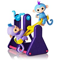 WowWee See-Saw w/ 2 Fingerlings Baby Monkey Toys