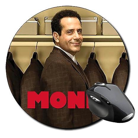 Monk Tony Shalhoub C Alfombrilla Redonda Round Mousepad PC