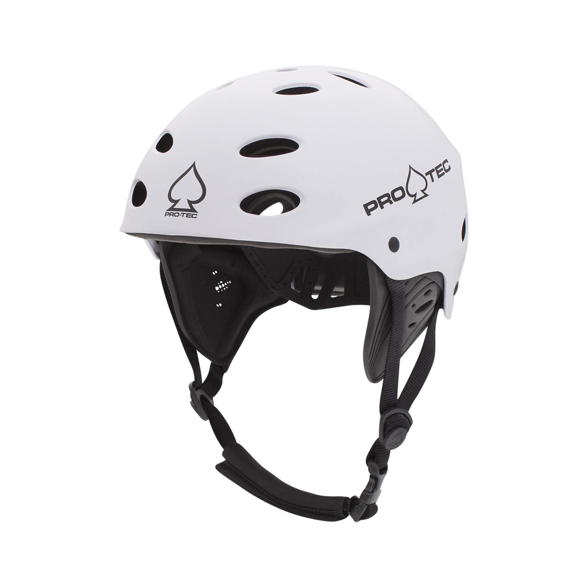 Pro-Tec Ace Wake Helmet, Satin White, S by Pro-Tec